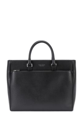 'Signature Tote' | Palmellato Leather Tote, Black
