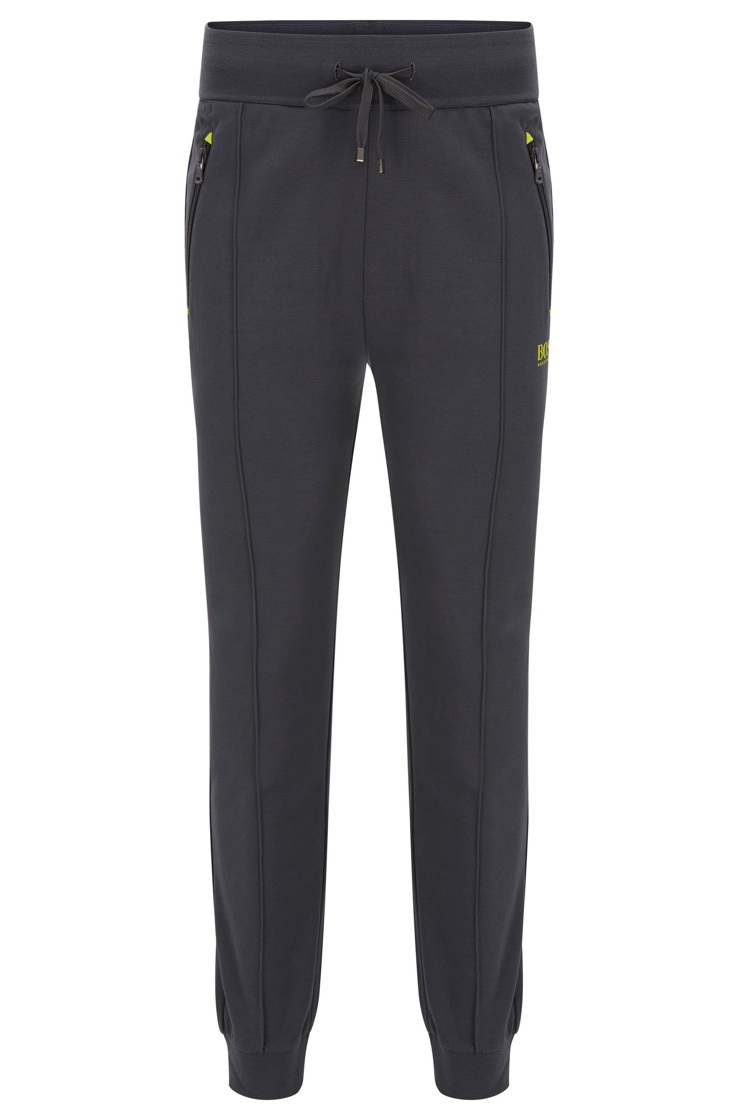 Stretch Cotton Lounge Pant | Long Pant Cuffs