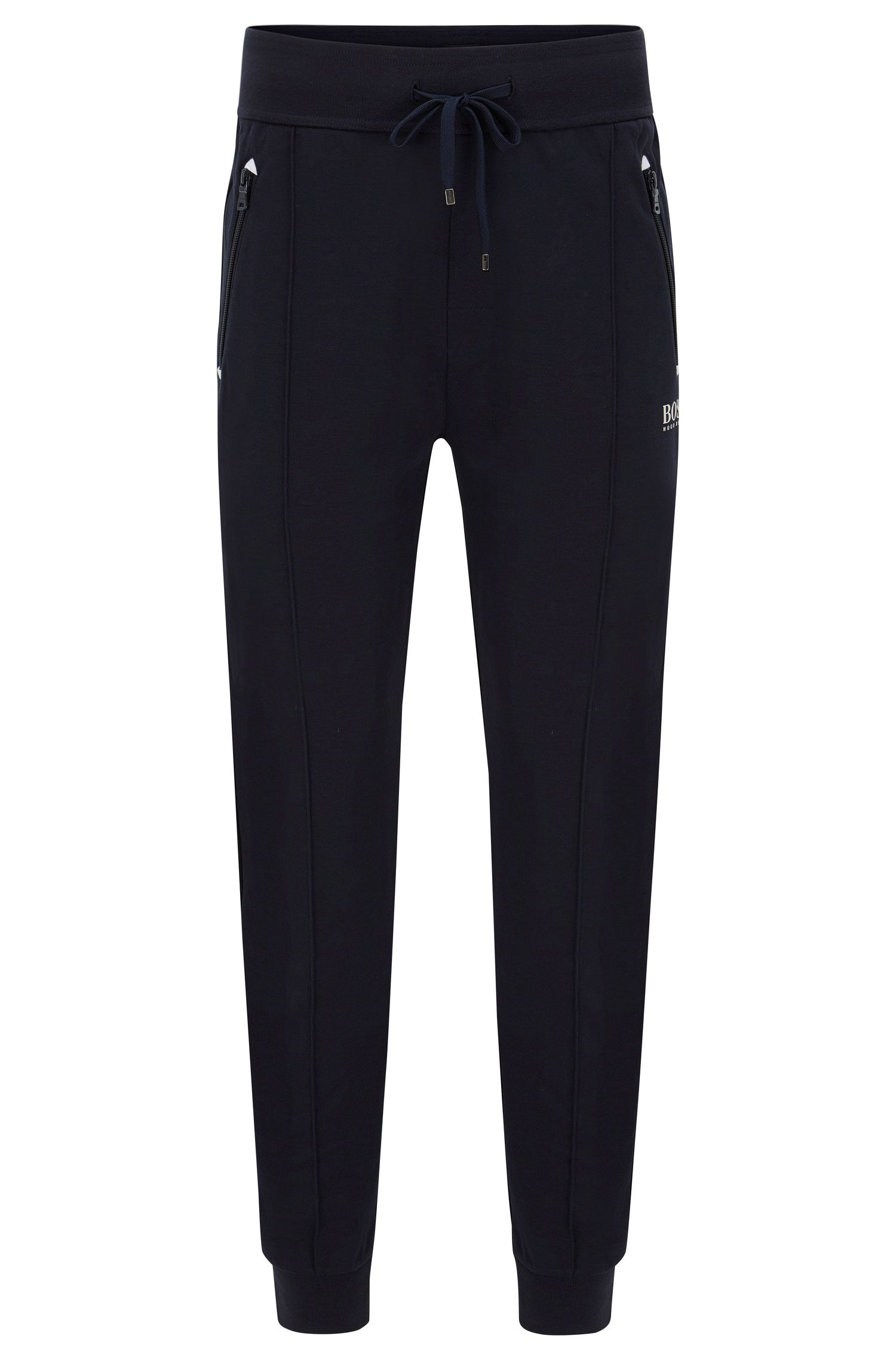 Stretch Cotton Lounge Pant | Long Pant Cuffs