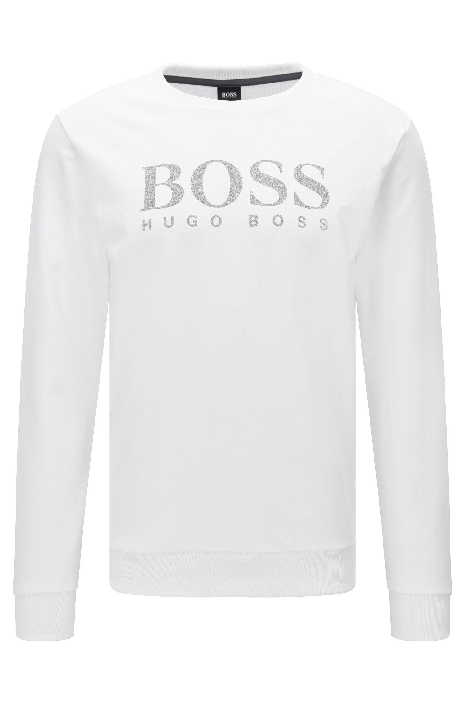 'Sweatshirt' | Logo-Print Cotton Sweatshirt