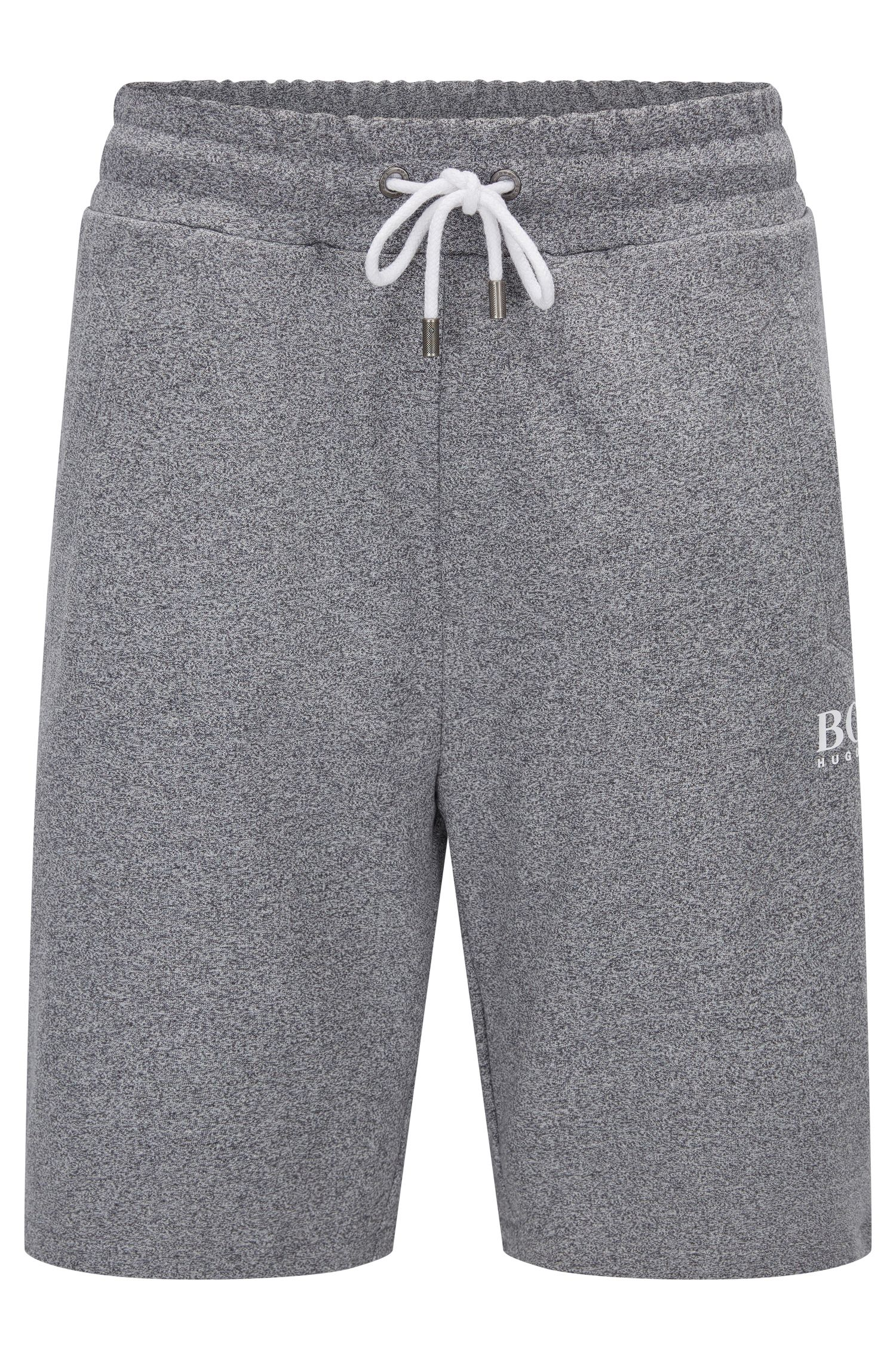 Heathered Cotton Sweatshort | Short Pant, Charcoal