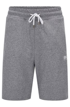 'Short Pant' | Heathered Cotton Sweatshorts, Charcoal