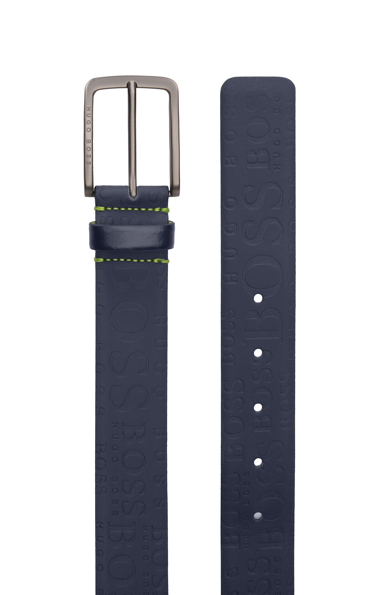 Embossed Leather Belt | Toga