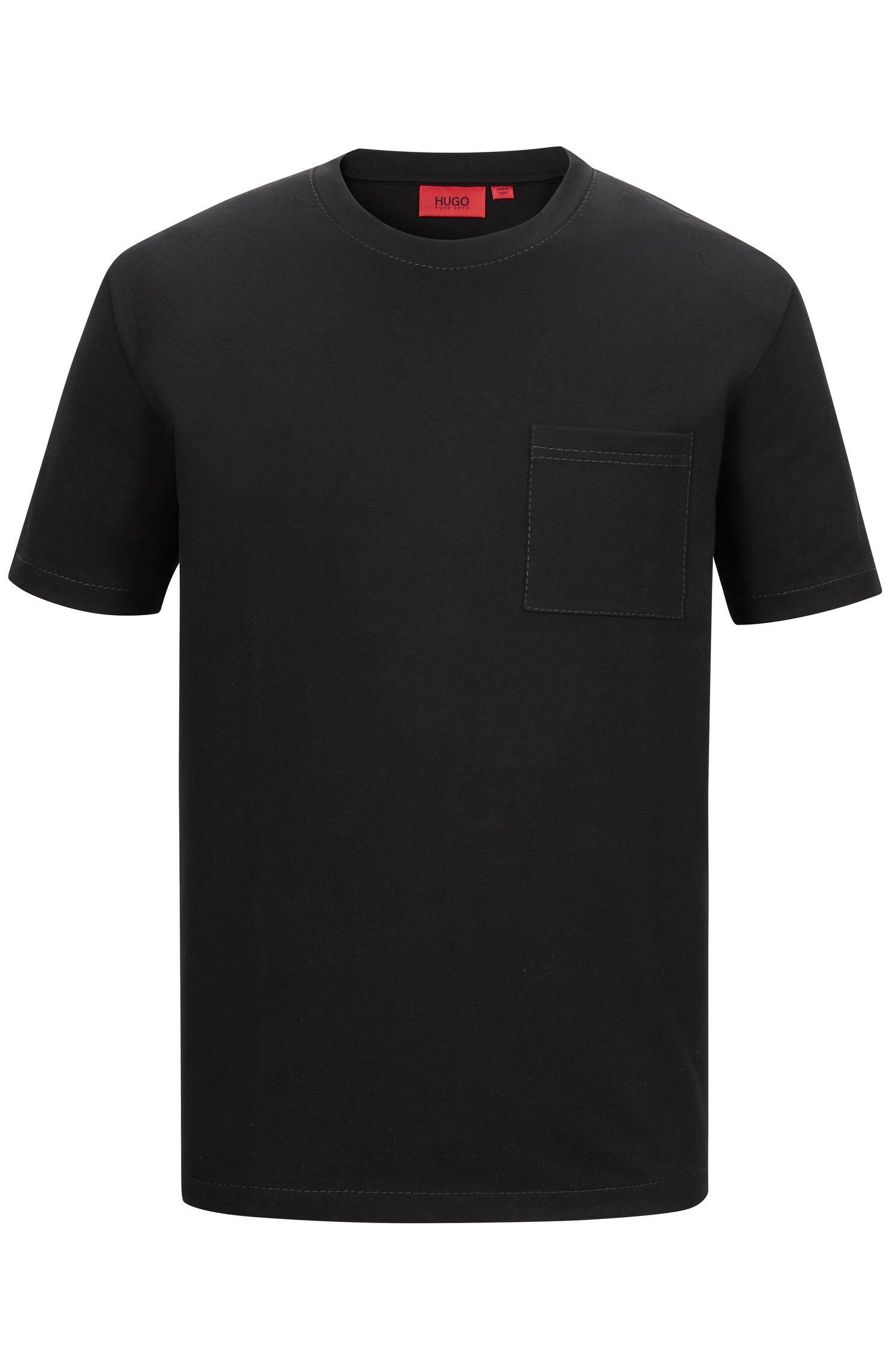 'Daccor' | Stretch French Terry Pocket T-Shirt