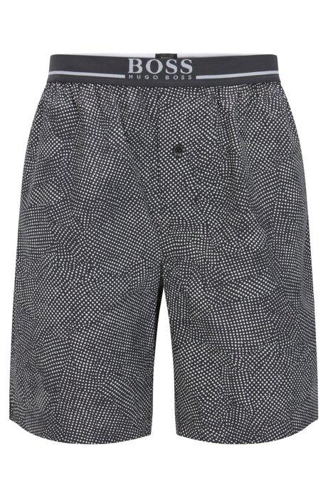 e31a4ee6 Microdot Cotton Short | Short Pant EW, Dark Grey