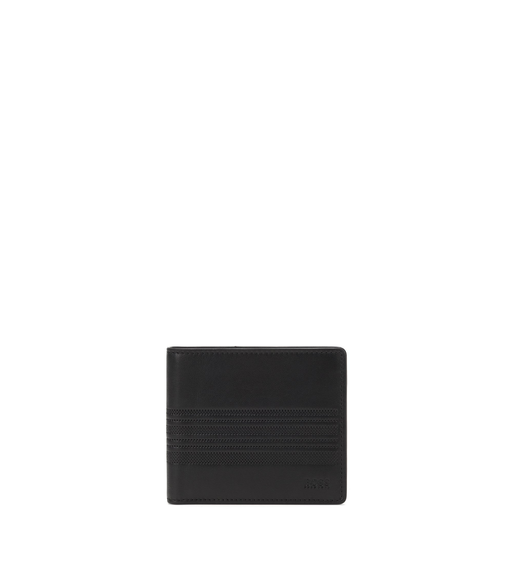 'S Card' | Leather Wallet, Black