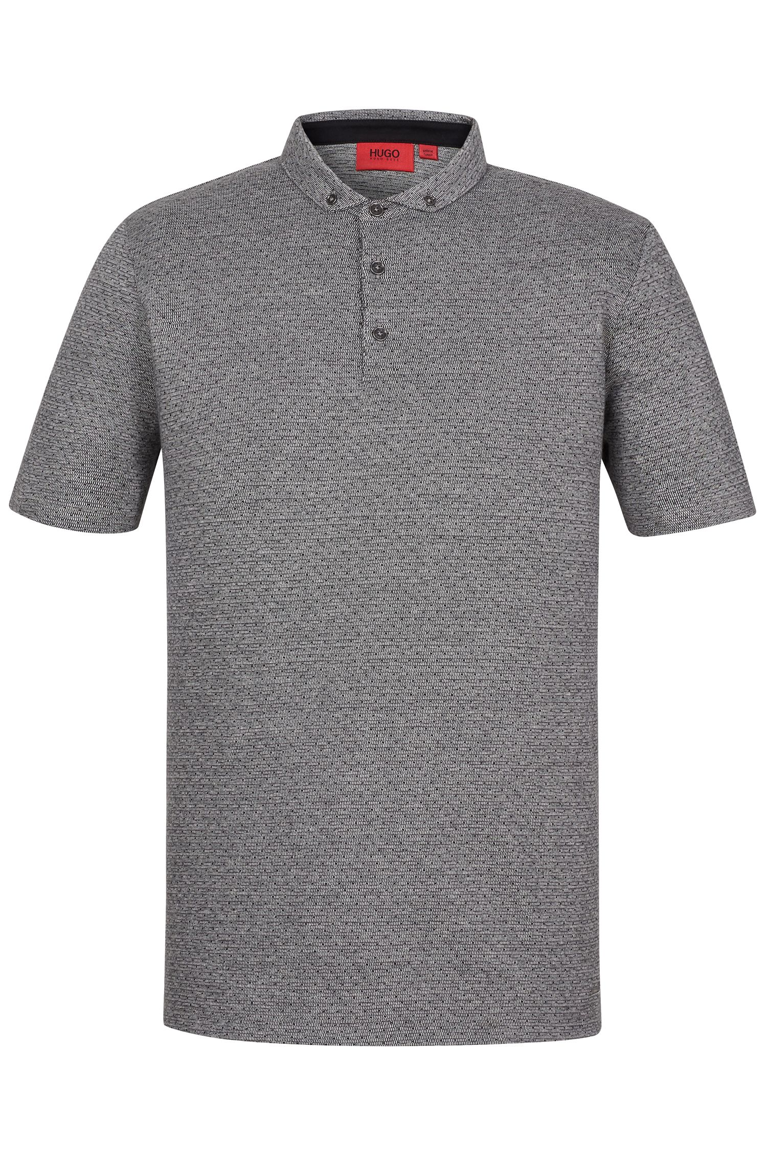 'Darriott'   Regular Fit, Dotted Cotton Polo