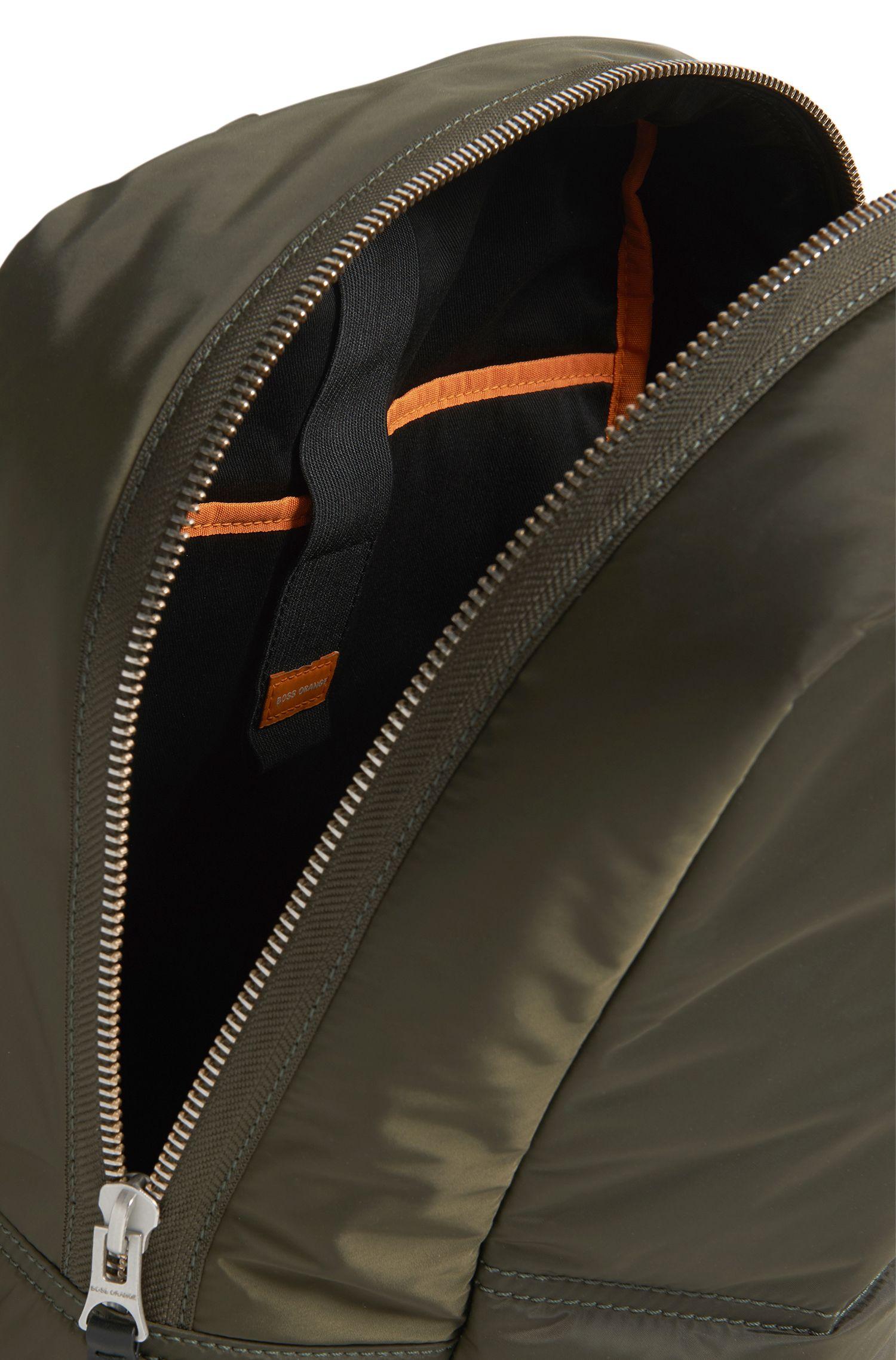 Nylon Backpack | Bomber Backpack, Dark Green