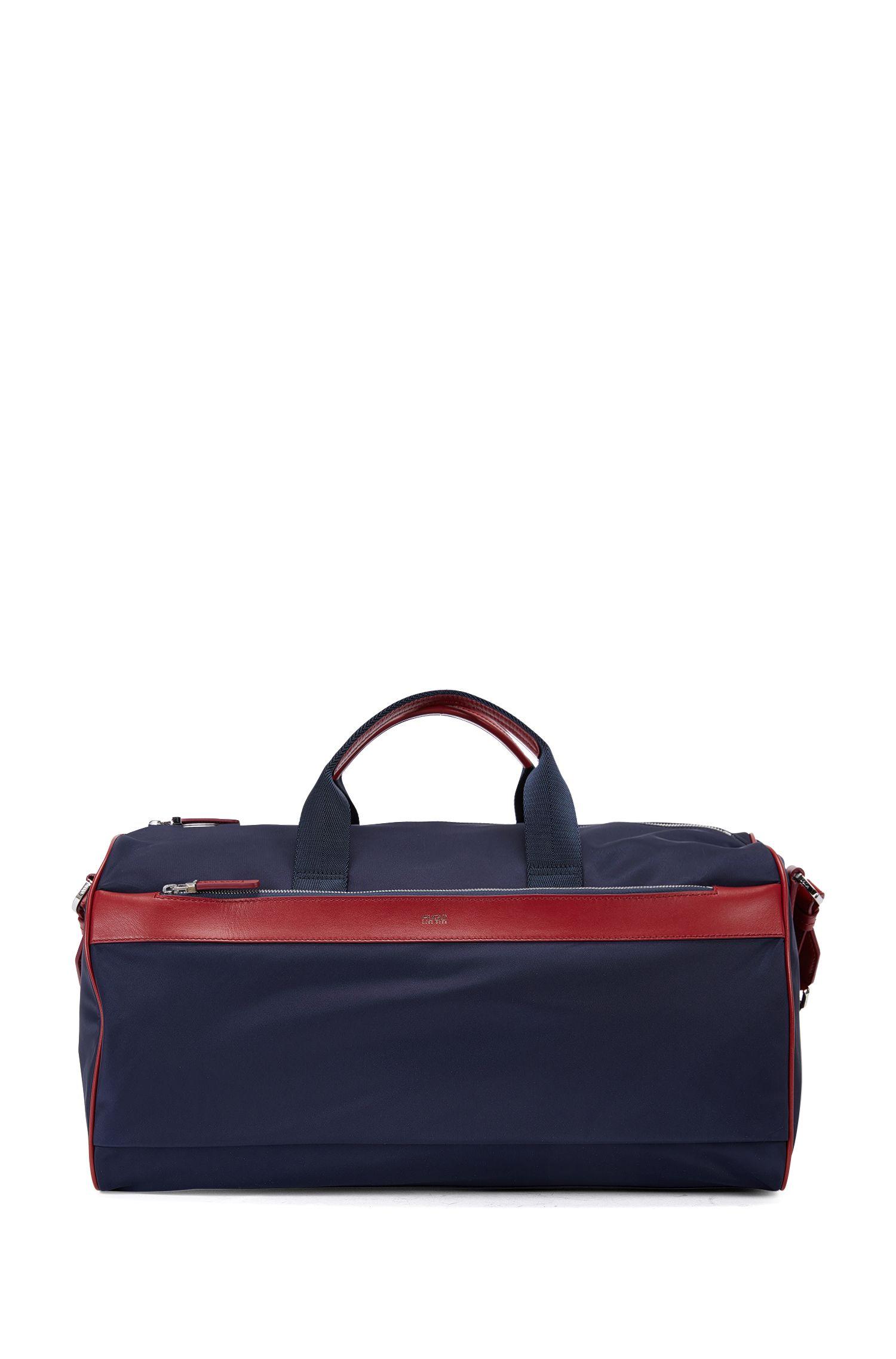 'Digital L Hold' | Nylon Weekender Bag