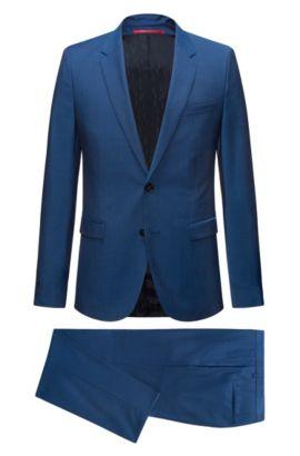 Wool Suit, Extra Slim Fit | Astian/Hets, Blue