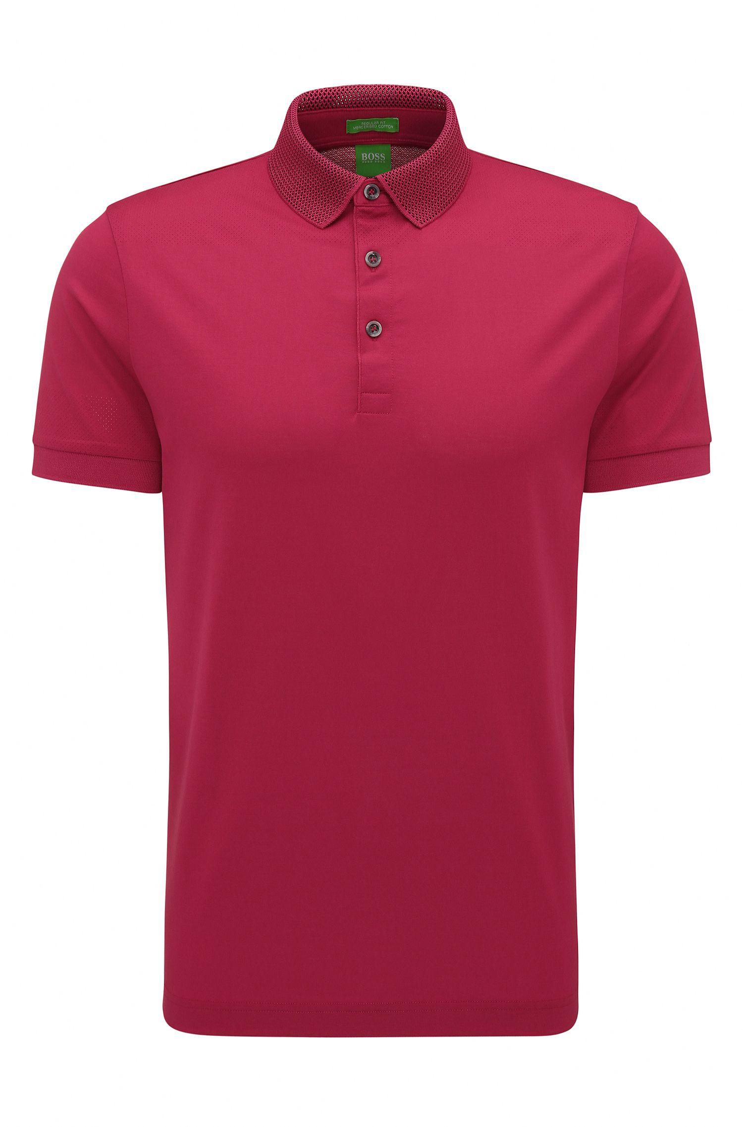 'C-Pirenzo' | Mercerized Cotton Polo Shirt