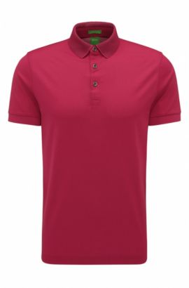 'C-Pirenzo' | Mercerized Cotton Polo Shirt, Pink