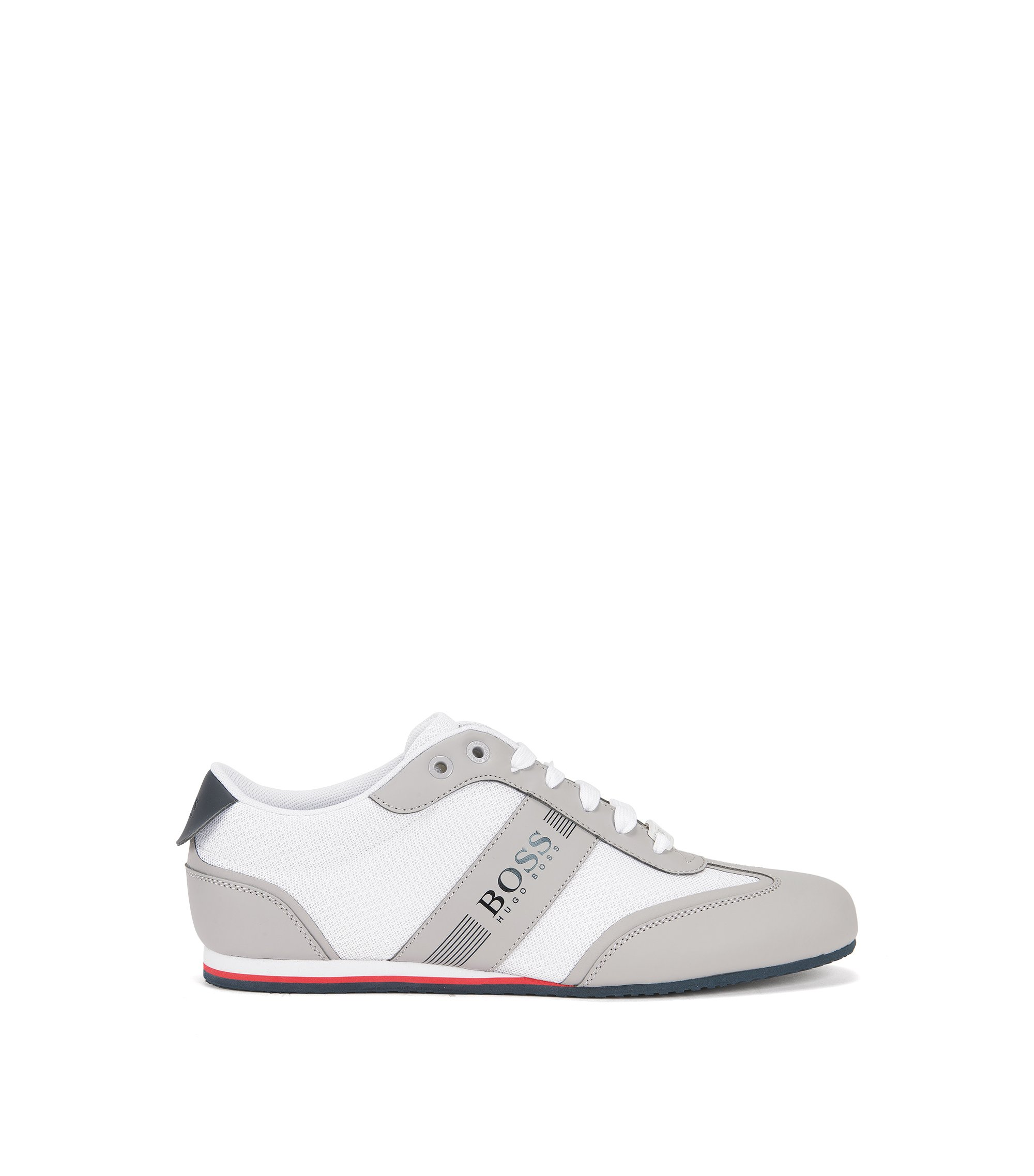 Mesh Sneaker | Lighter Lowp Mxme, White
