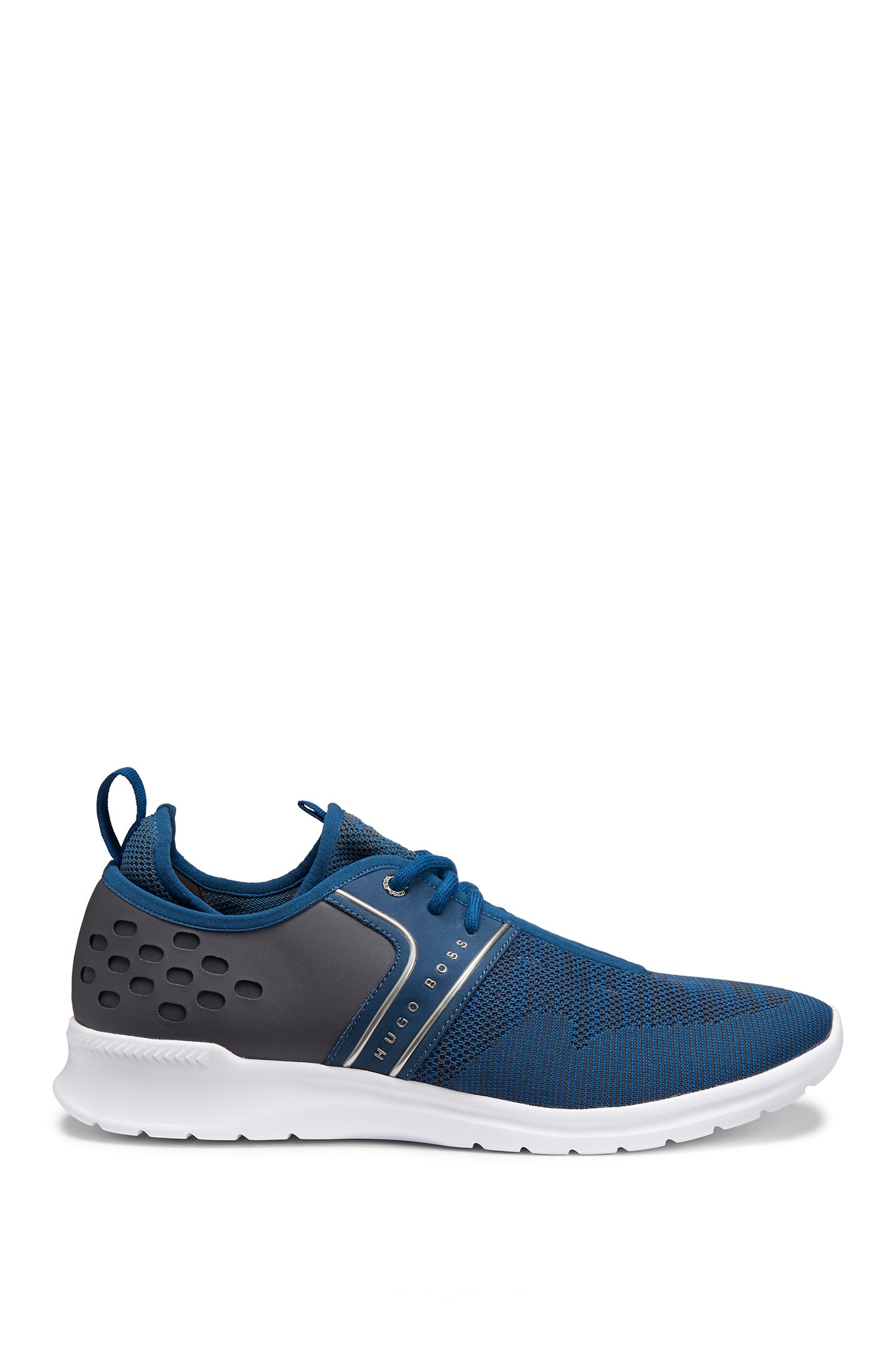 Nylon Sneakers | Extreme Runn Sykn, Open Blue