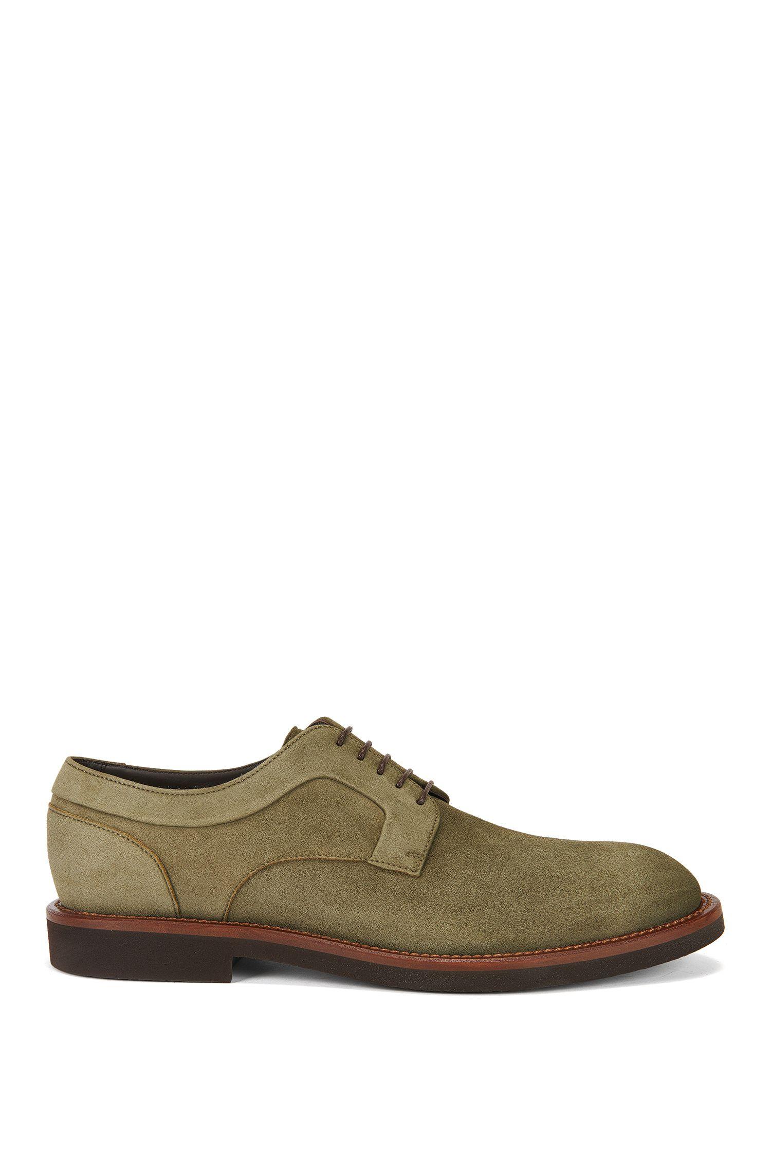 Nubuck Leather Derby Shoes | Eden Derb Sdg