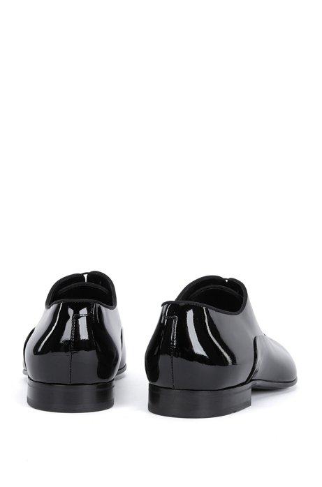 BOSS Hugo Boss Italian Patent Leather Oxford Evening Shoe Evening Oxfr pa 11.5 Black Cheap Sale Enjoy R379uiJ718