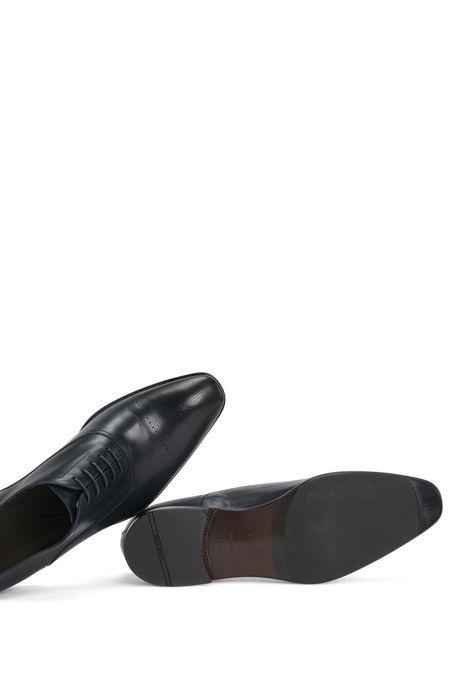 Italian Calfskin Oxford Dress Shoe Chelsea Oxfr Ctls