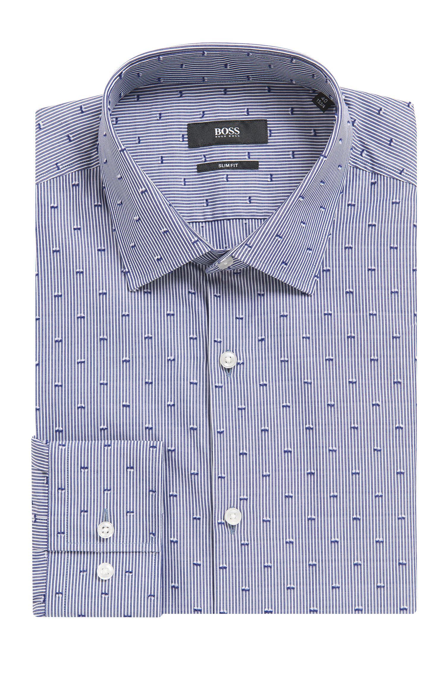 Jenno' | Slim Fit, Cotton Dress Shirt