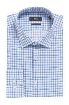 'Marley US' | Sharp Fit, Cotton Dress Shirt, Blue