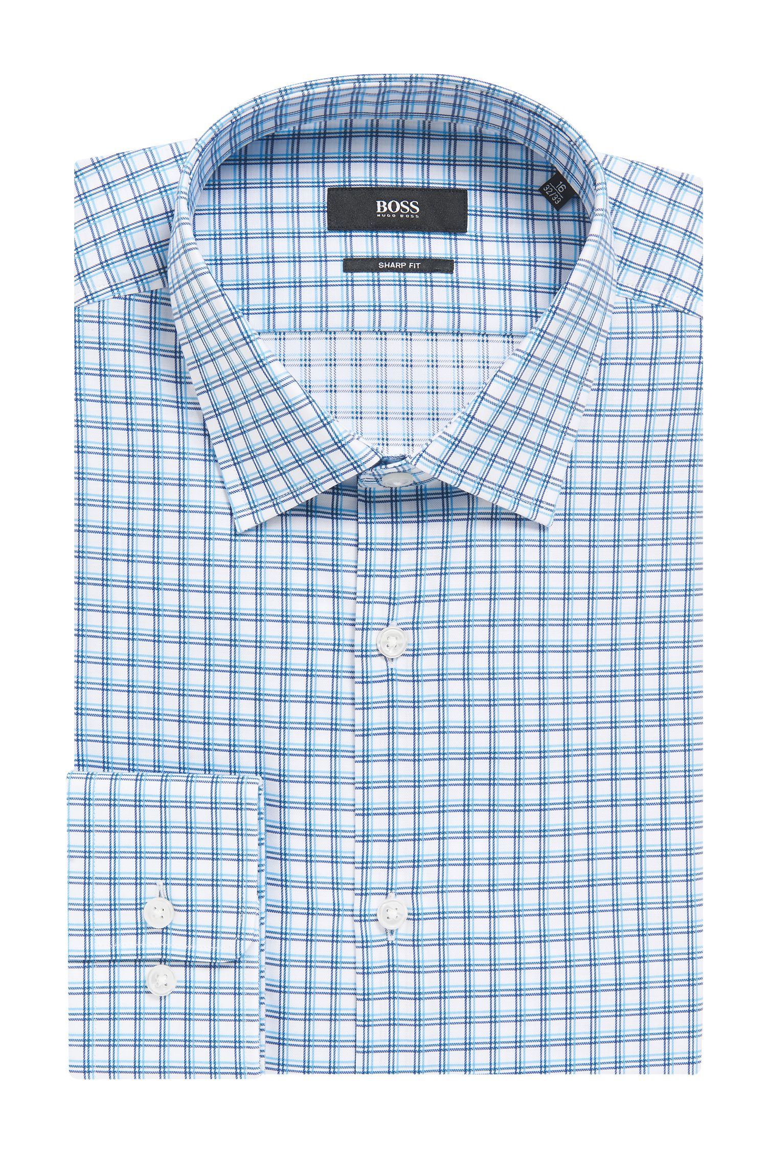 'Marley US' | Sharp Fit, Cotton Dress Shirt