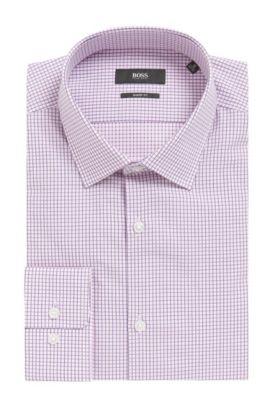 'Marley US' | Sharp Fit, Cotton Dress Shirt, light pink
