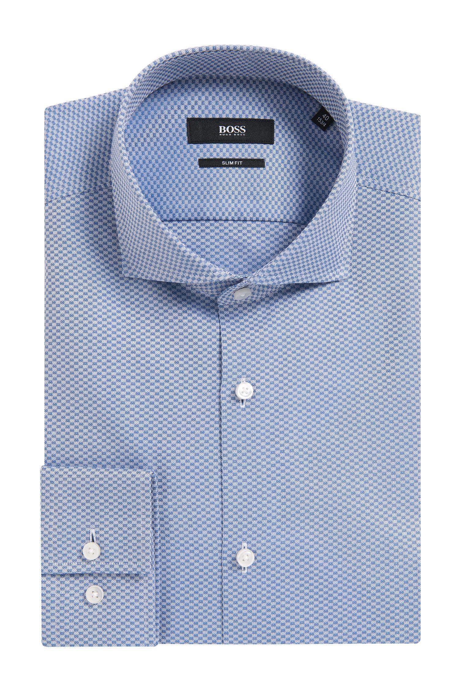 Jason' | Slim Fit, Italian Cotton Dress Shirt