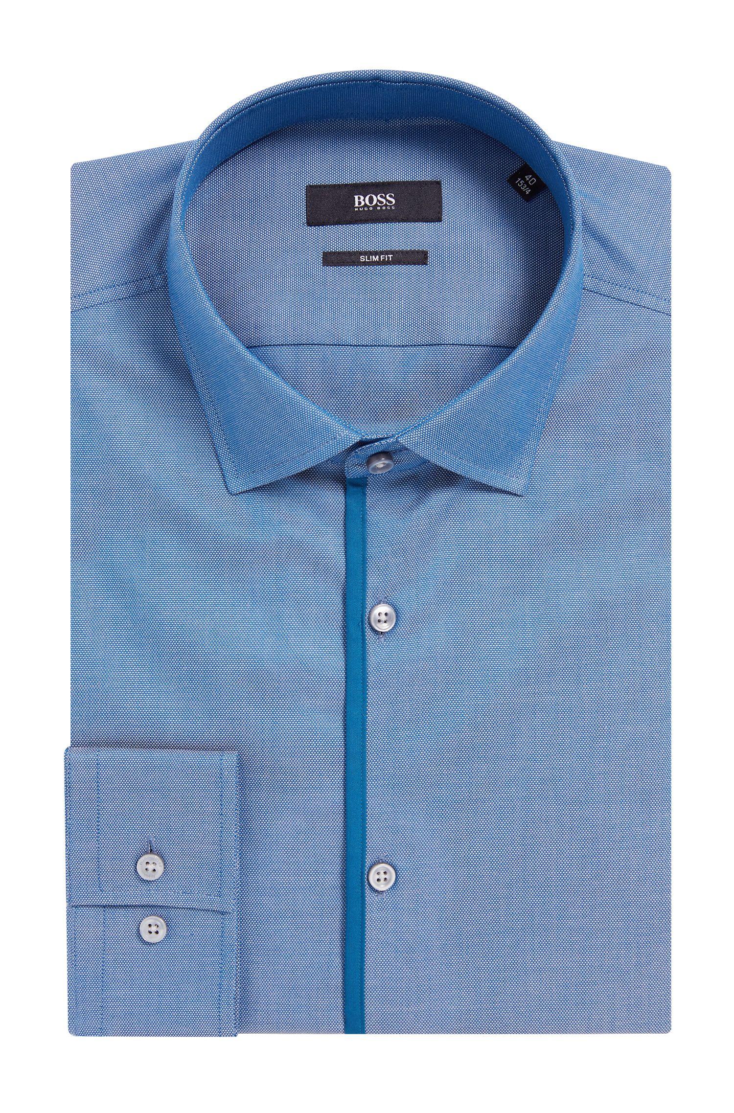 'Jeldrik' | Slim Fit, Royal Oxford Cotton Dress Shirt