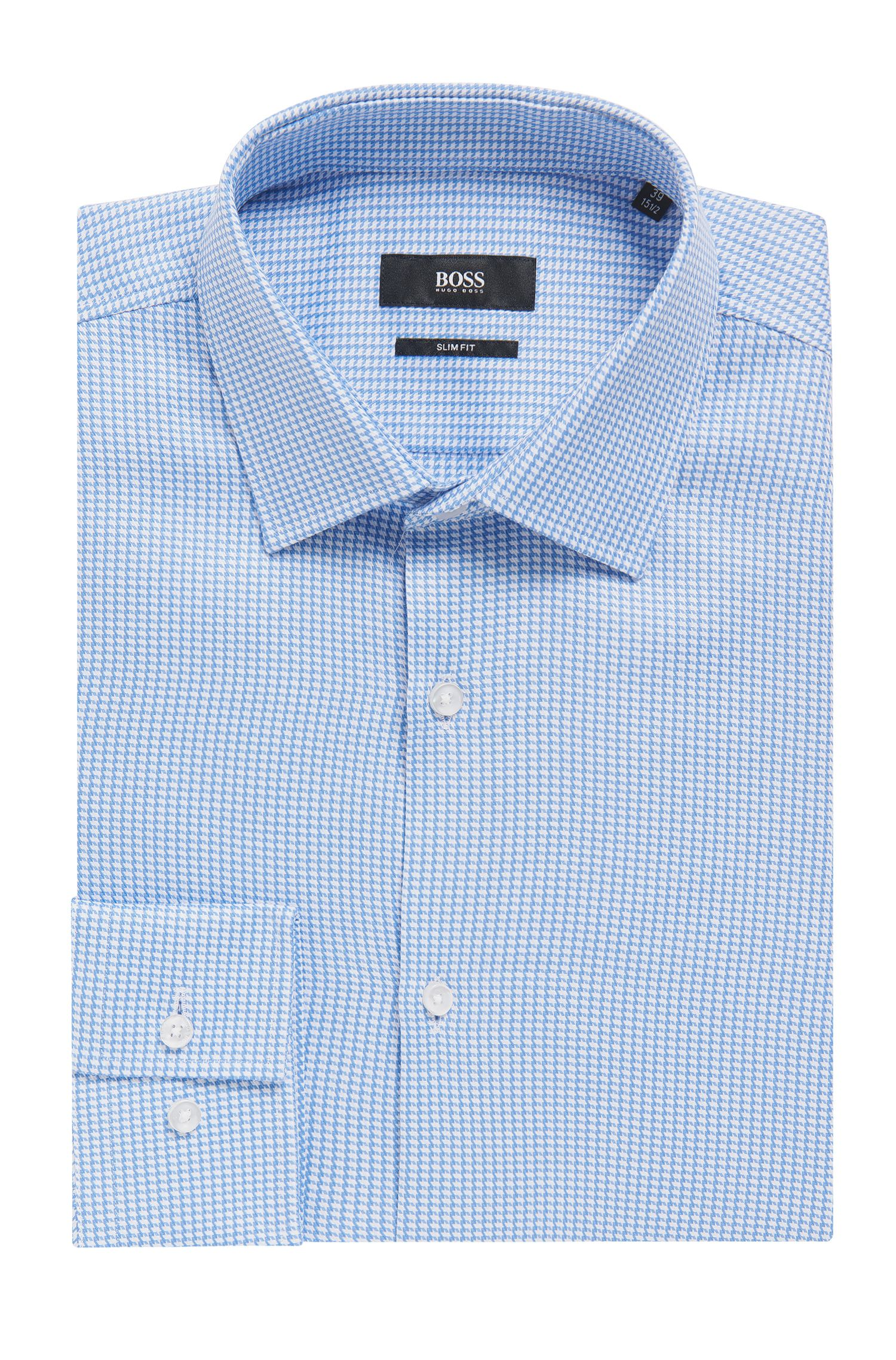 Italian Cotton Dress Shirt, Slim Fit | Jenno