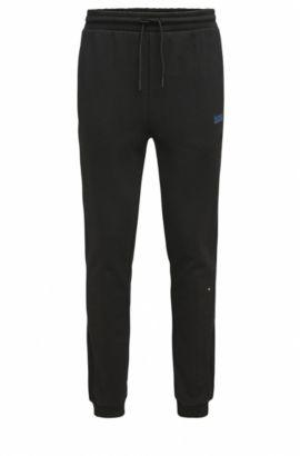 'Hivon' | Stretch Cotton Pants, Black