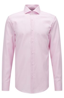 Fresh Active Traveler Dress Shirt, Slim Fit | Jason, light pink