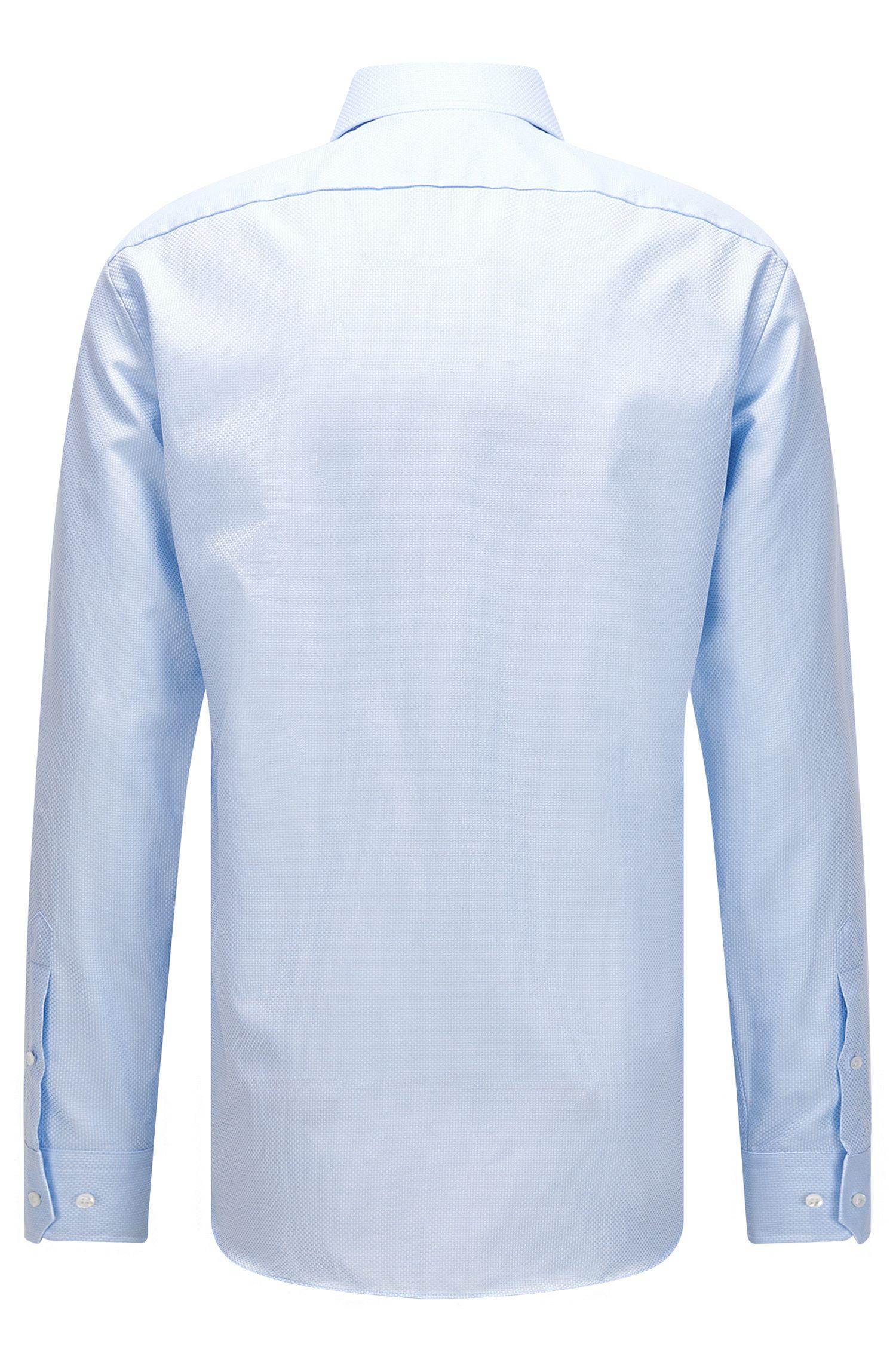 Italian Cotton Dress Shirt, Slim Fit   T-Stenson