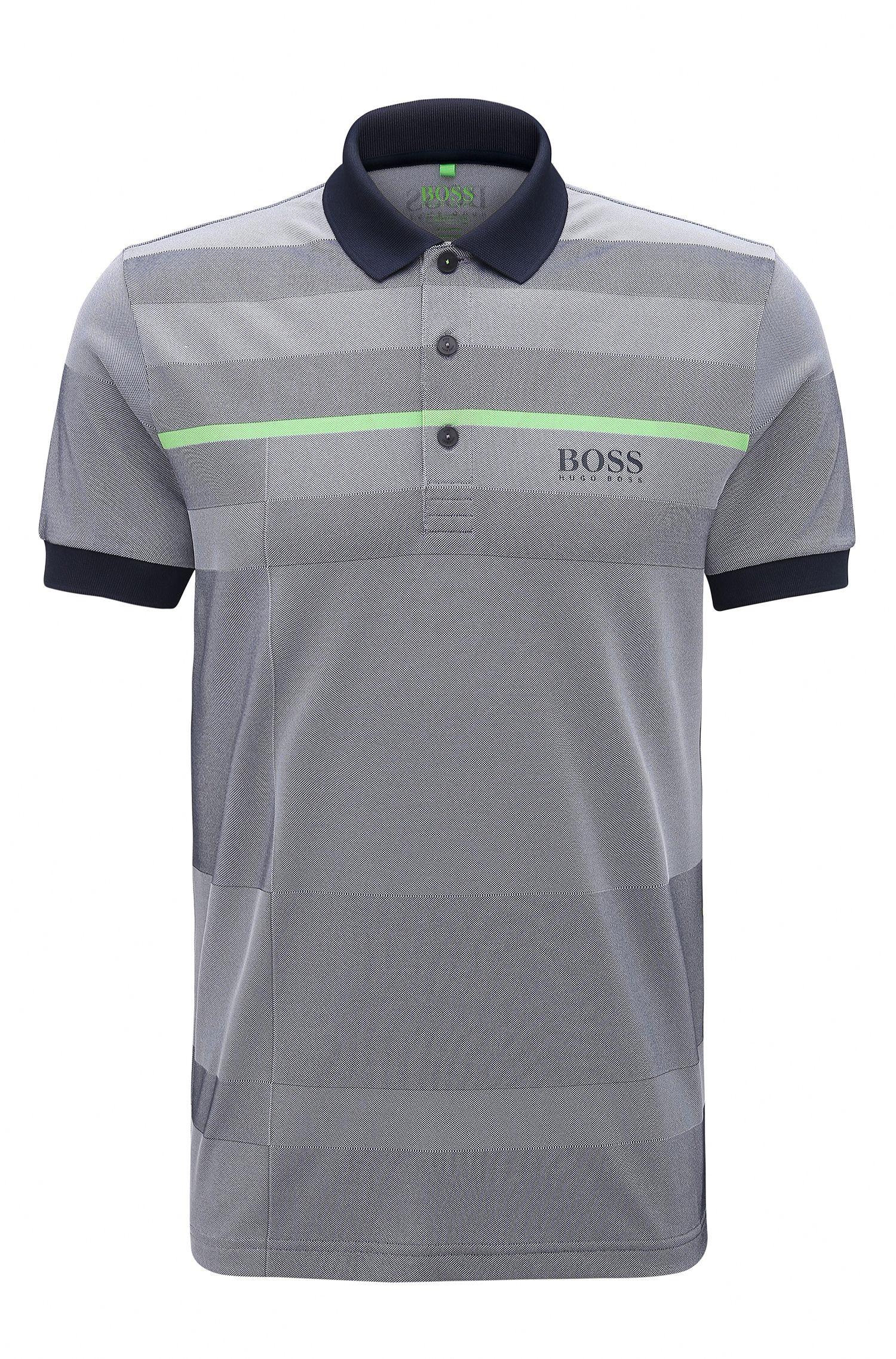 Stretch Polo Shirt, Regular Fit   Paddy Pro