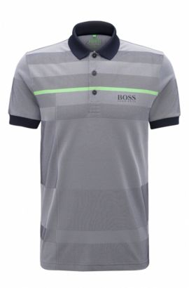 'Paddy Pro' | Regular Fit, Stretch Polo Shirt, Dark Blue
