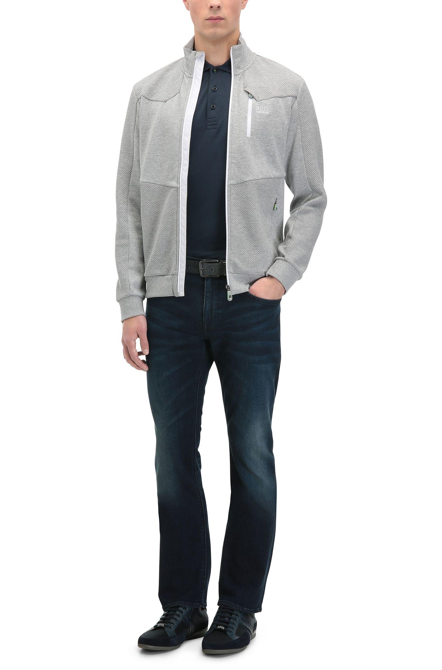 Colorblock Cotton Polo, Slim Fit | Paule