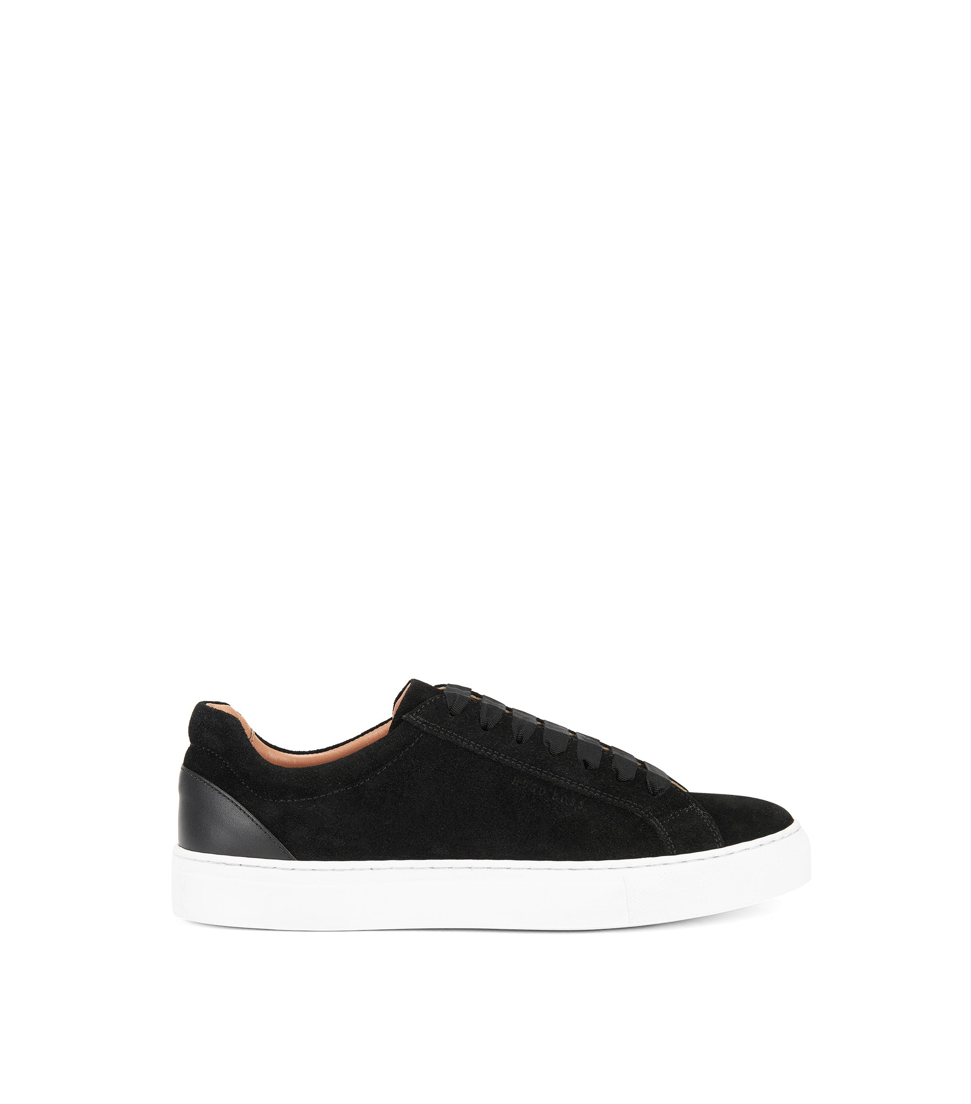 Suede Sneaker | Low Cut S, Black