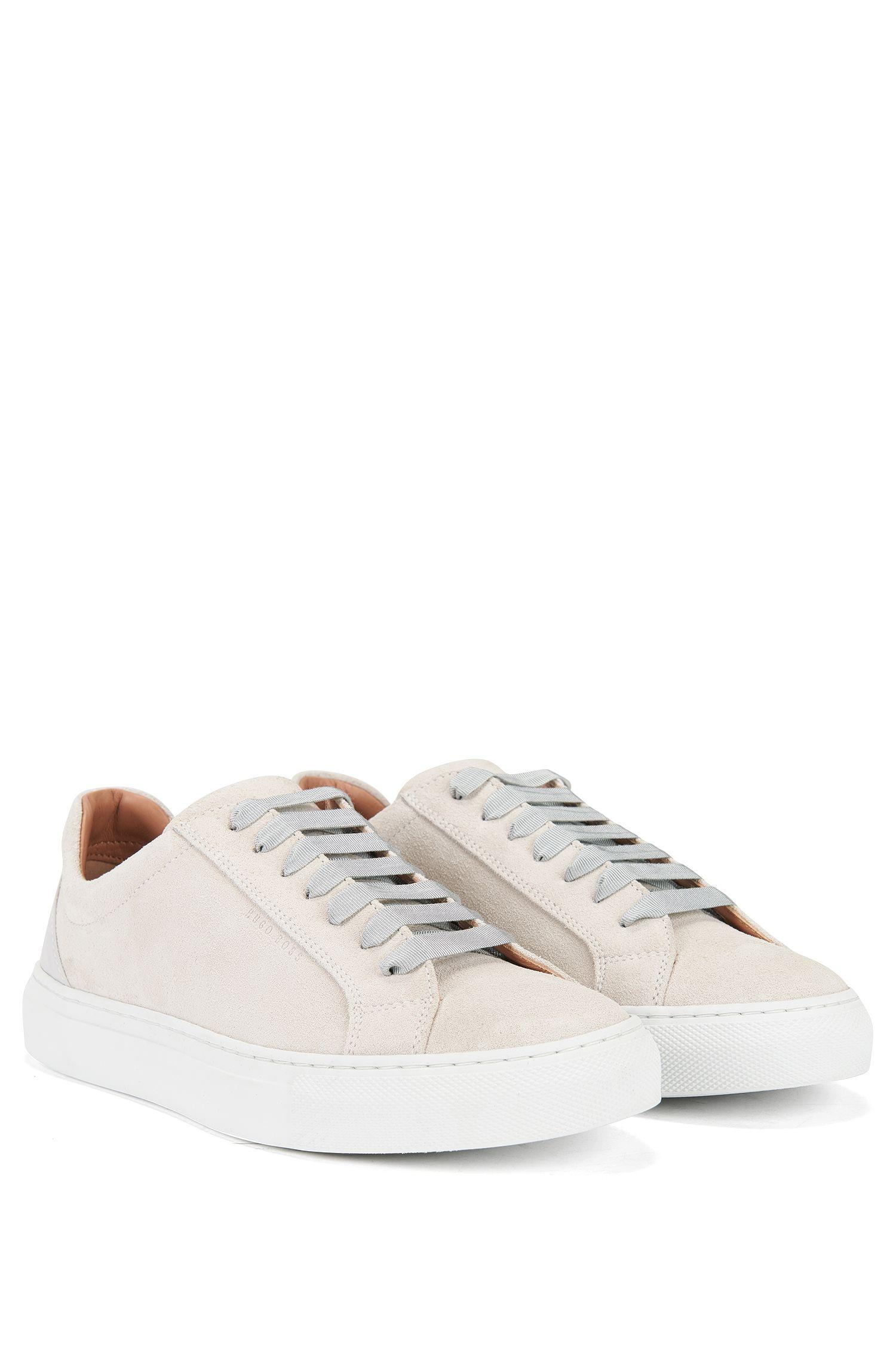 Suede Sneaker | Low Cut S, Light Grey
