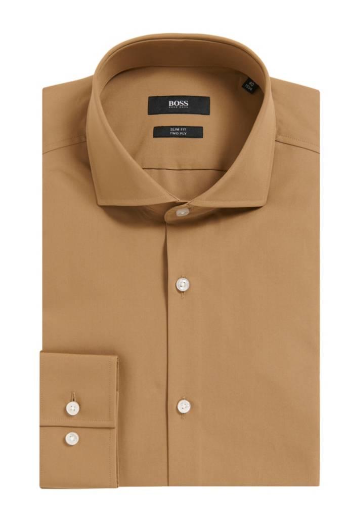 2 ply cotton dress shirt slim fit jason for 2 ply cotton dress shirt