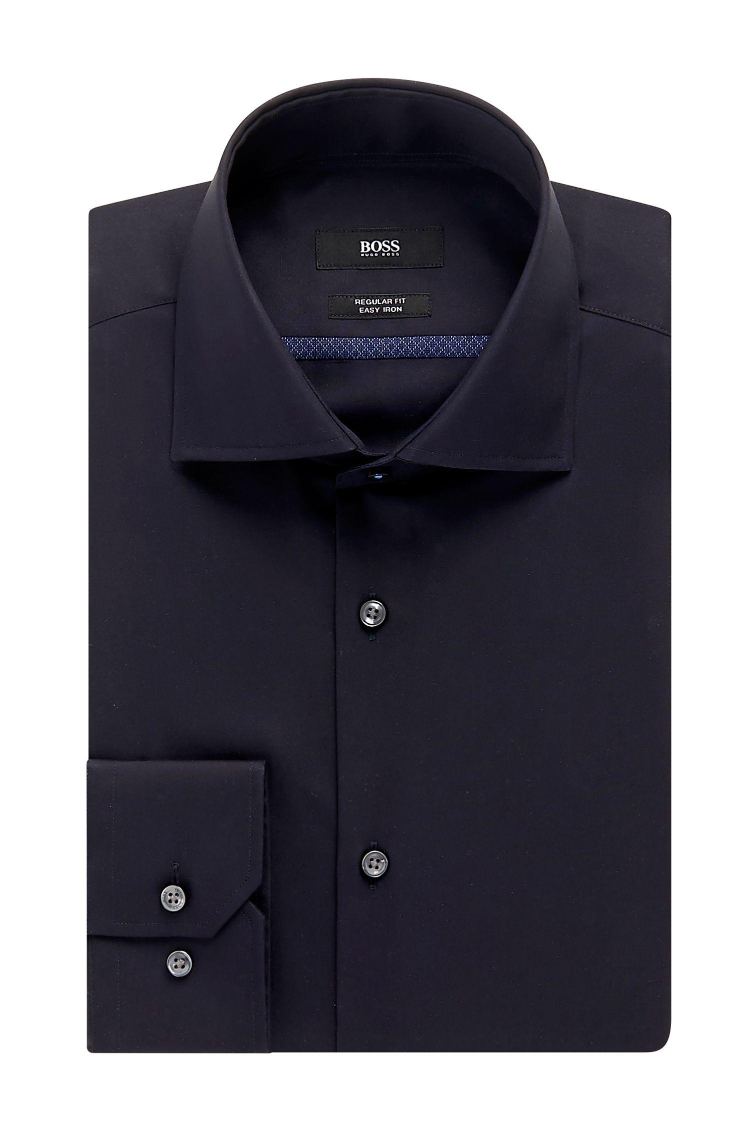 Easy-Iron Cotton Dress Shirt, Regular Fit   Gert