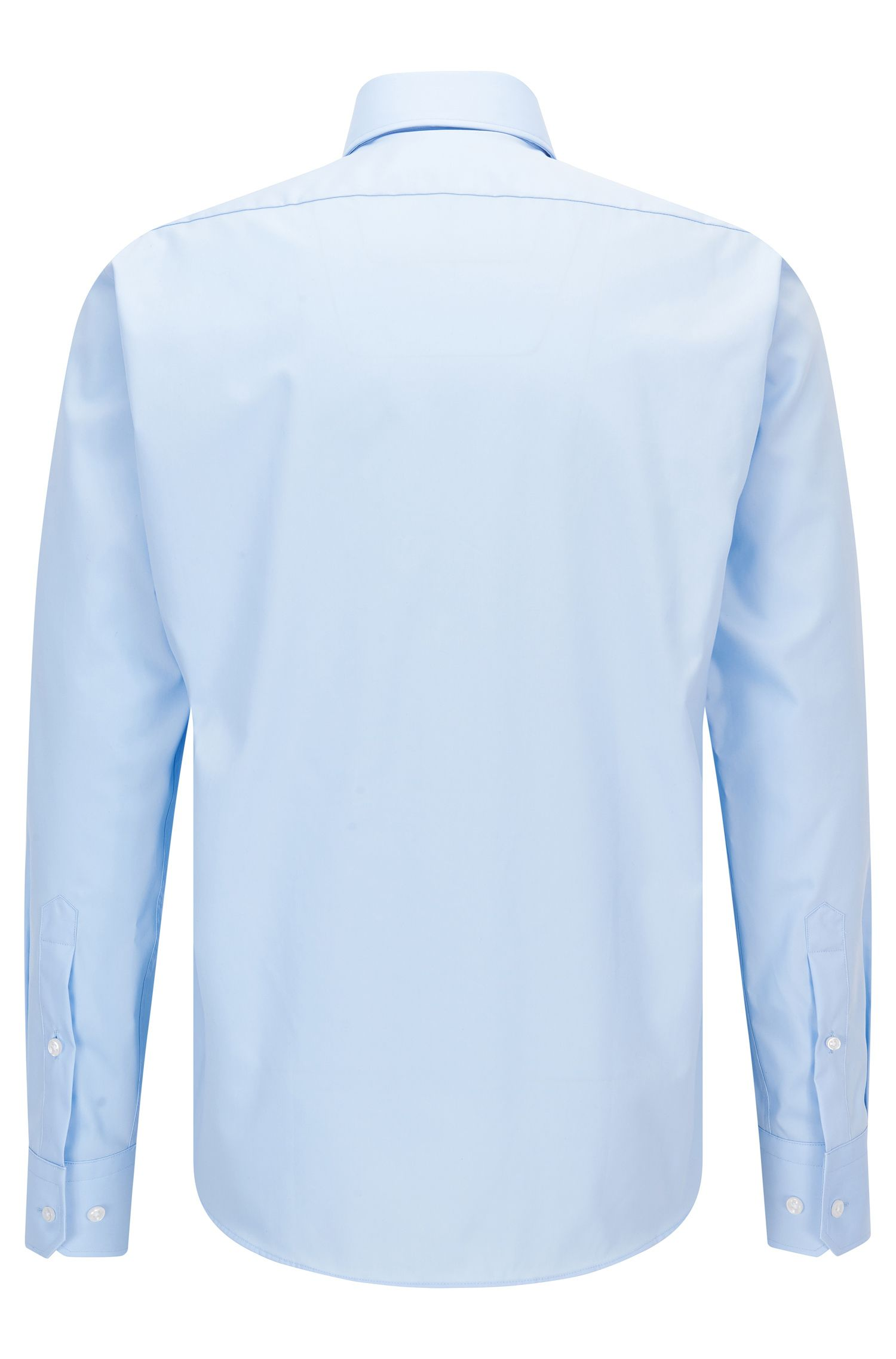 Easy Iron Cotton Dress Shirt, Regular Fit | Gert , Light Blue
