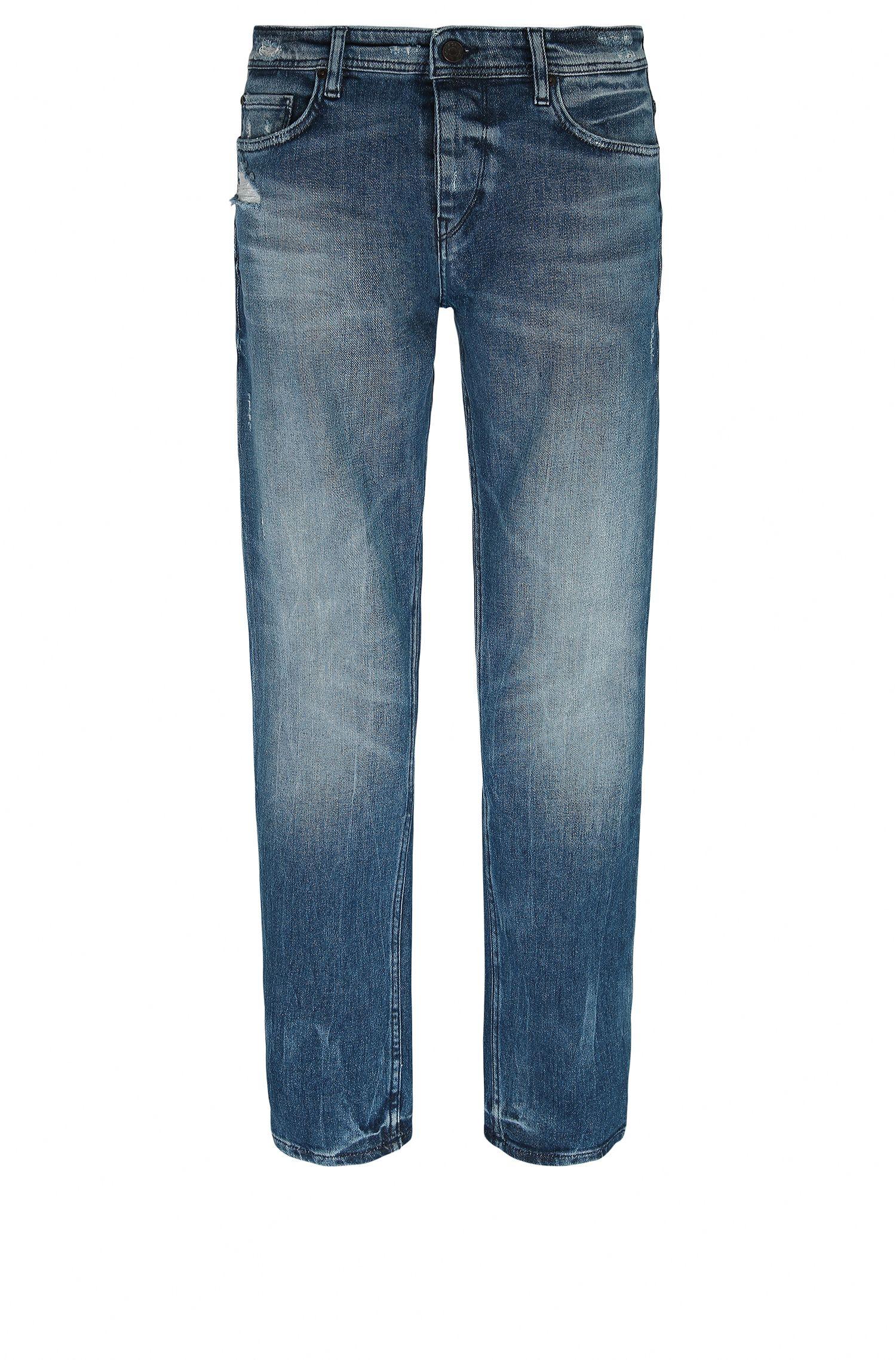 Stretch Cotton Jean, Tapered Fit | Orange90