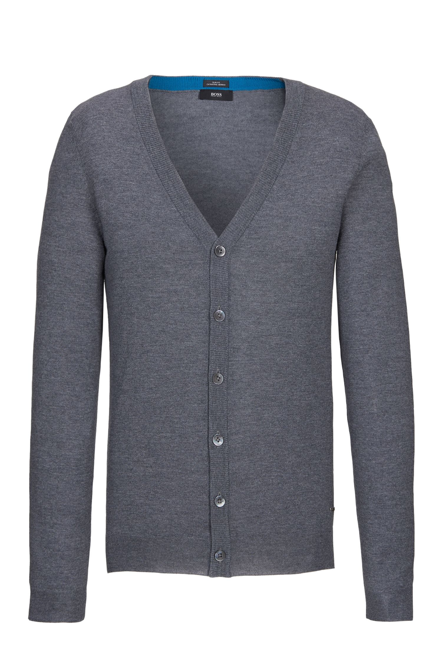 'Mardon-M' | Slim Fit, Extra-Fine Virgin Merino Wool Sweater