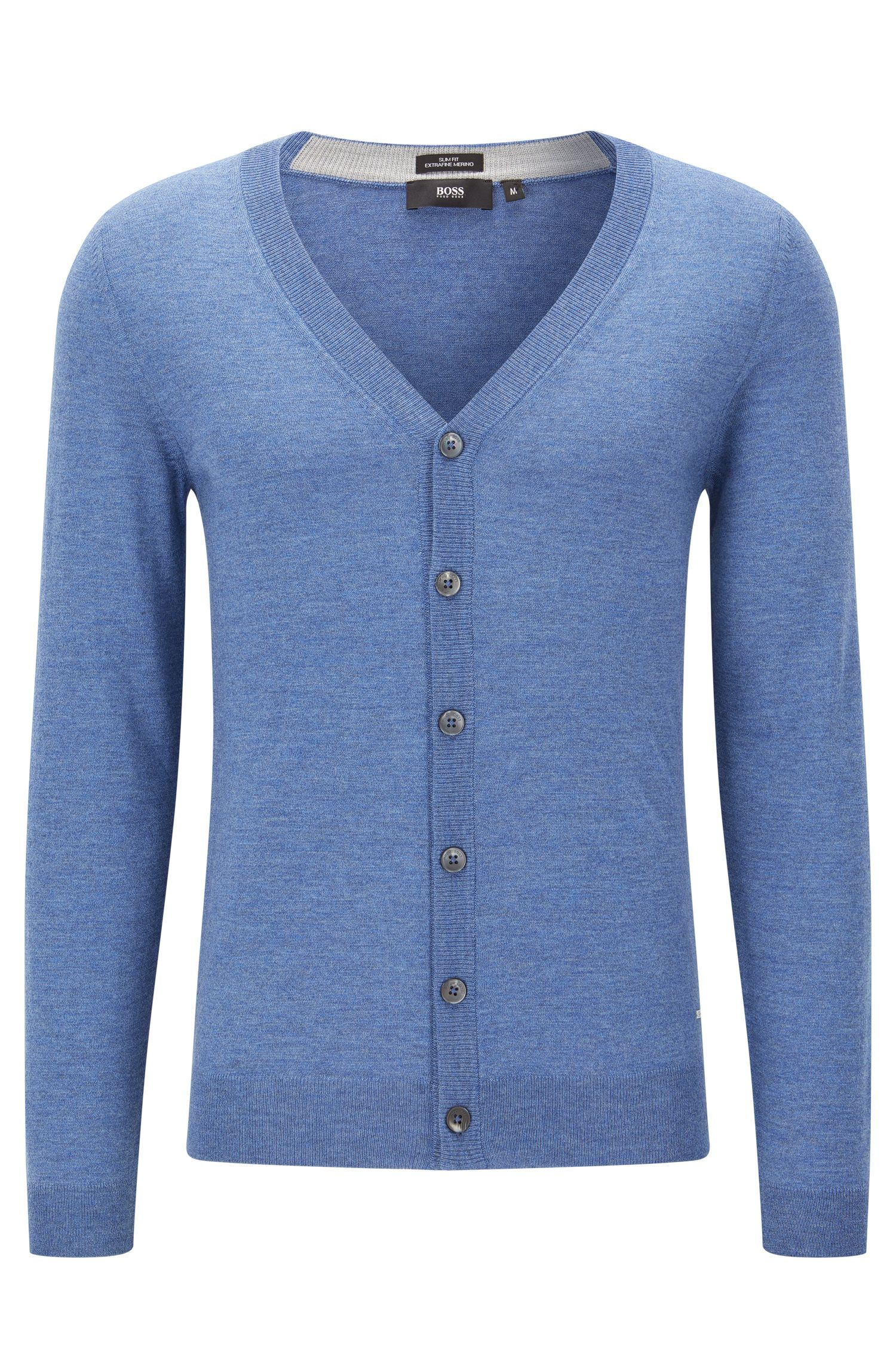 'Mardon-M' | Slim Fit, Extra-Fine Virgin Merino Wool Sweater