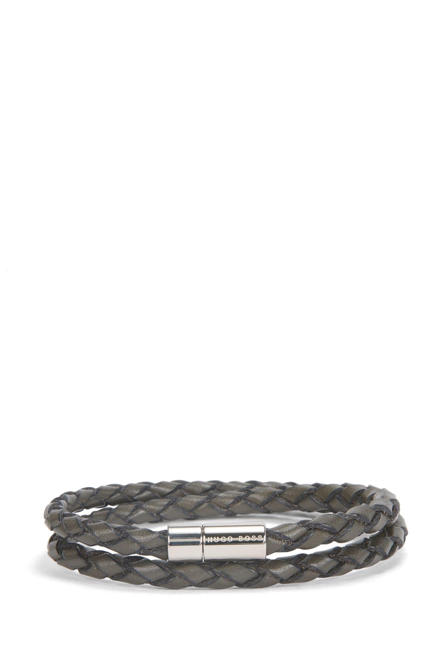 'Boris' | Leather Double-Wrap Bracelet