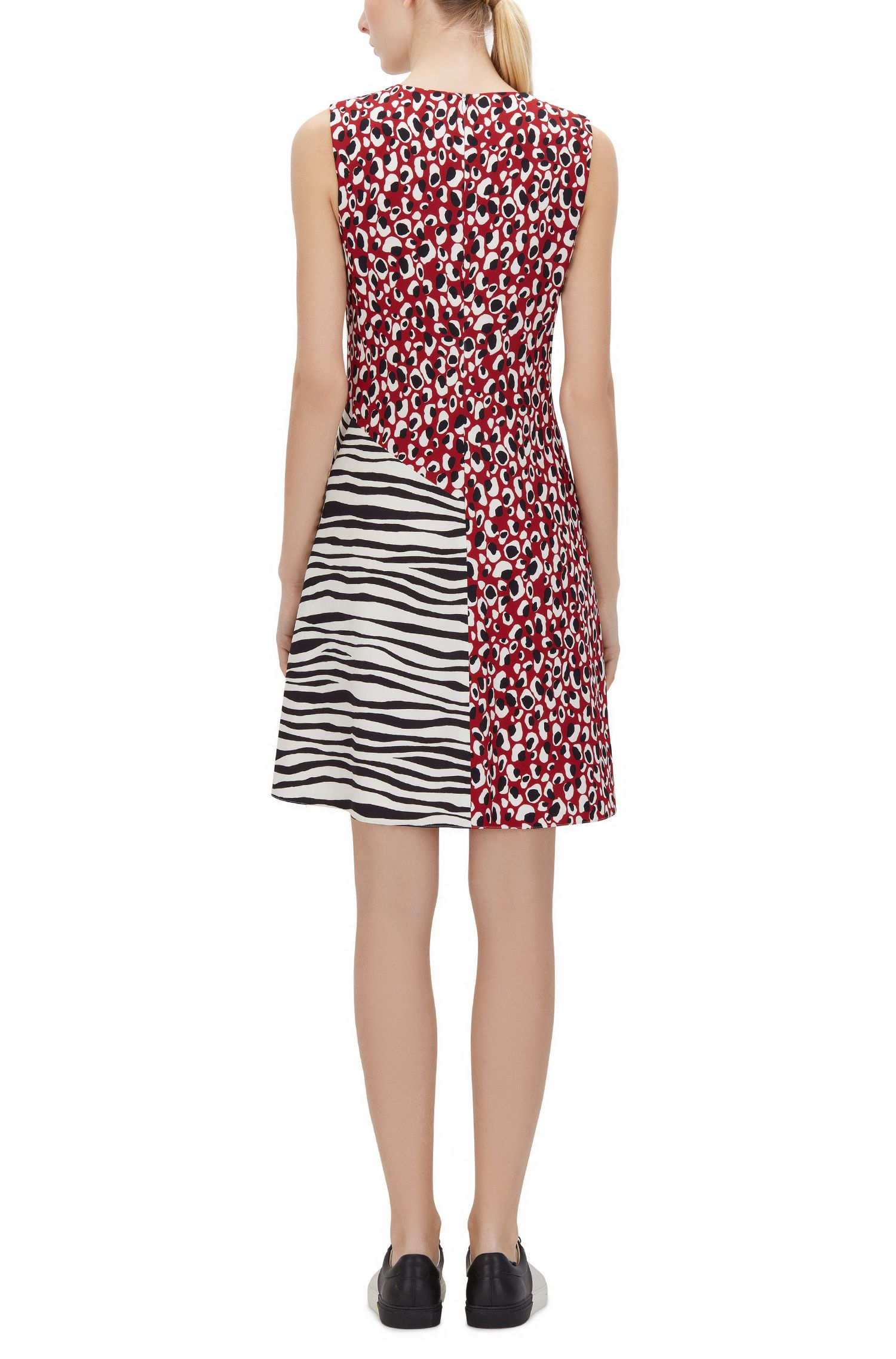 Animal-Print Stretch Dress | Diseba