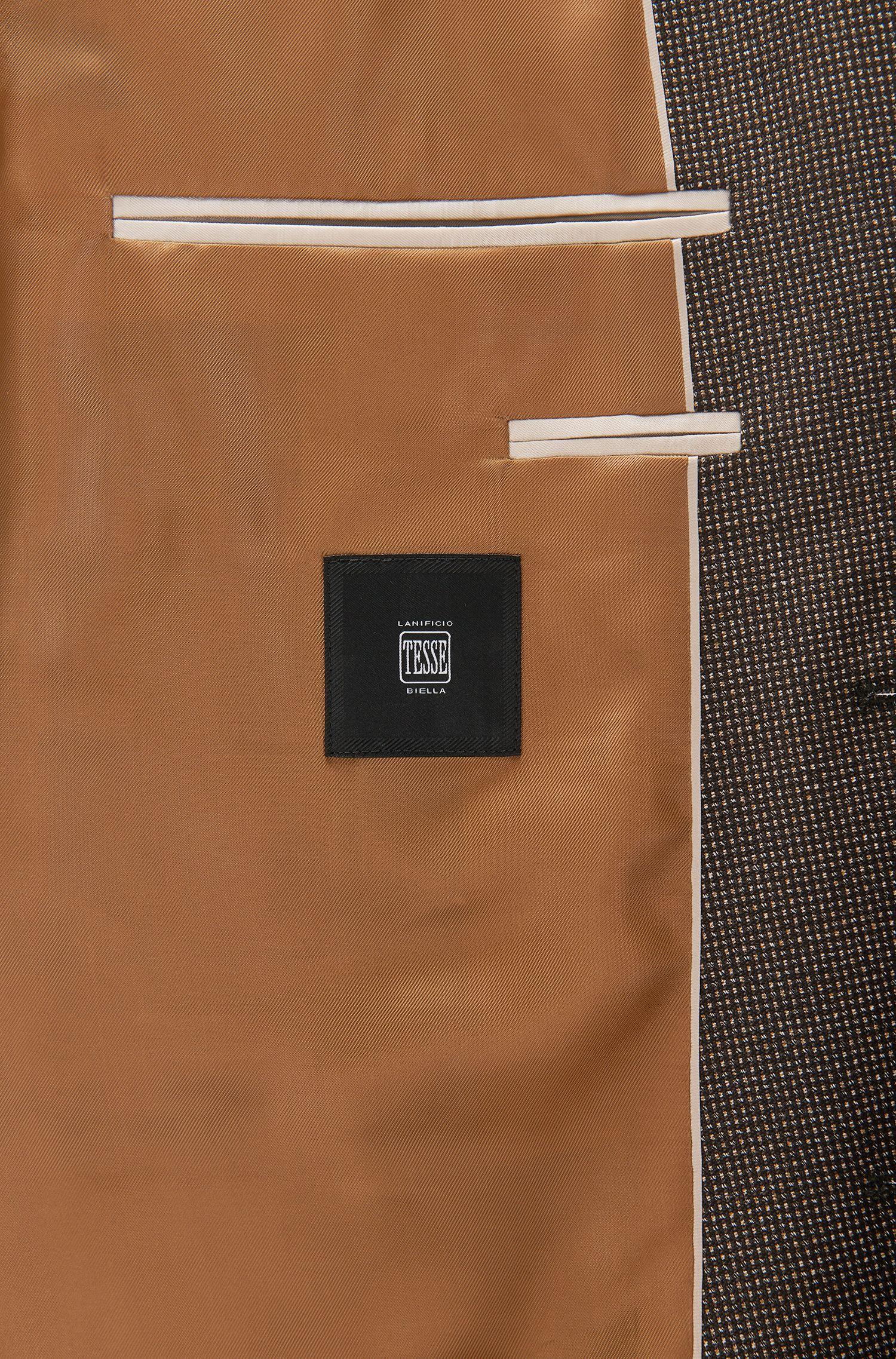 Nailhead Italian Virgin Wool Sport Coat, Regular Fit | Jeen