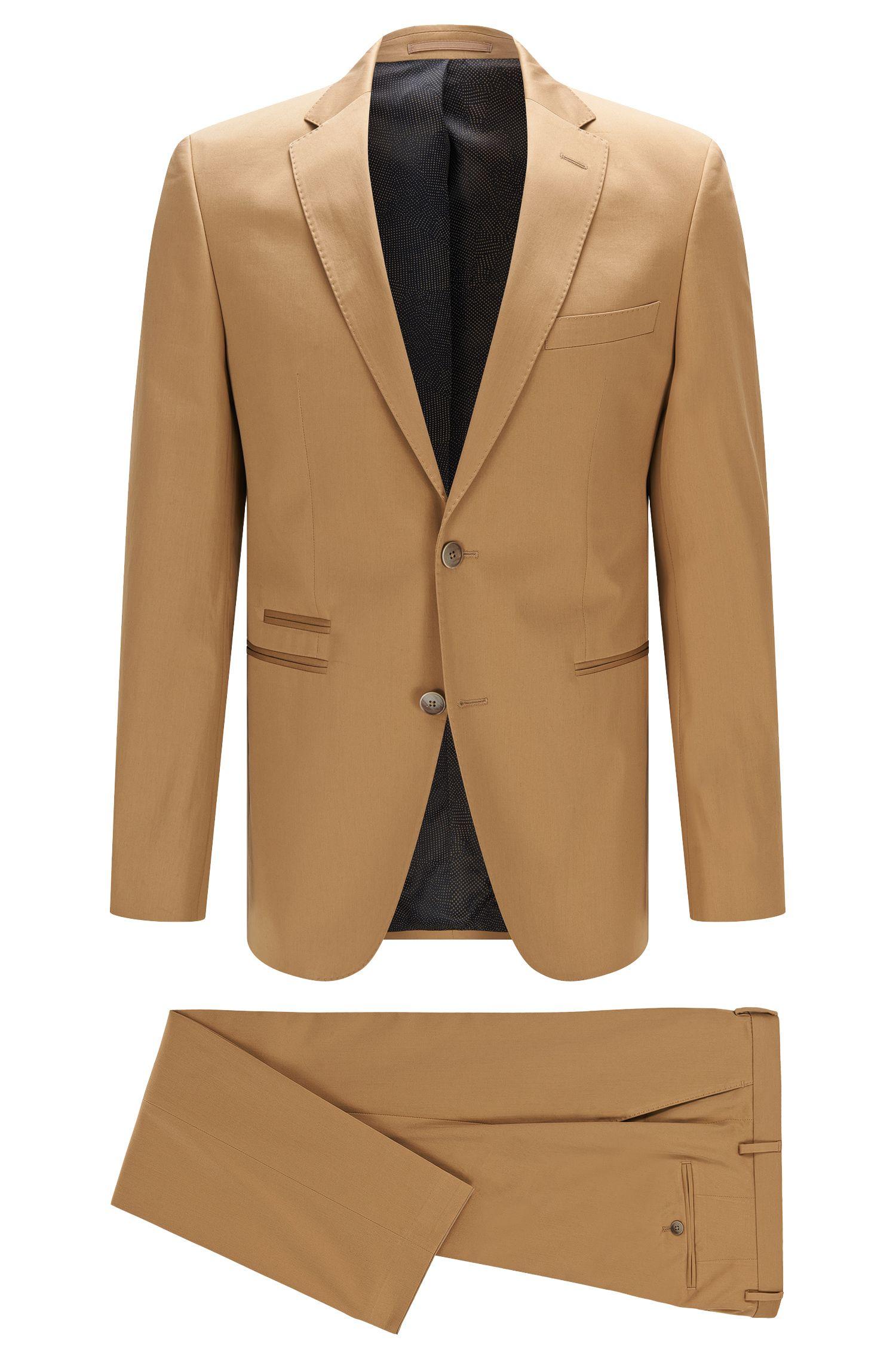 Stretch Pima Cotton Suit, Regular Fit | Jilman/Leran