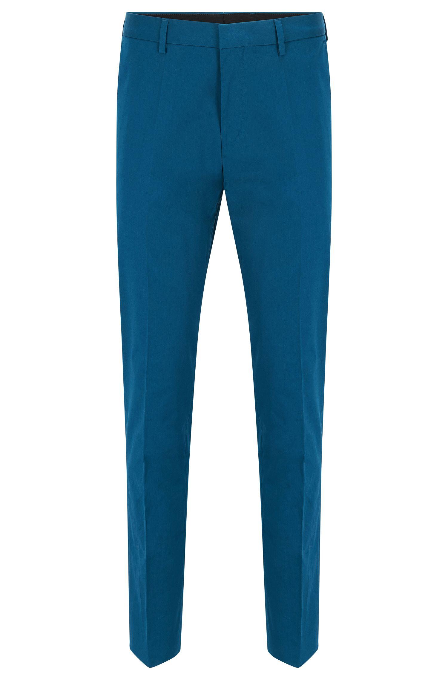 'Genesis' | Slim Fit, Stretch Cotton Dress Pants