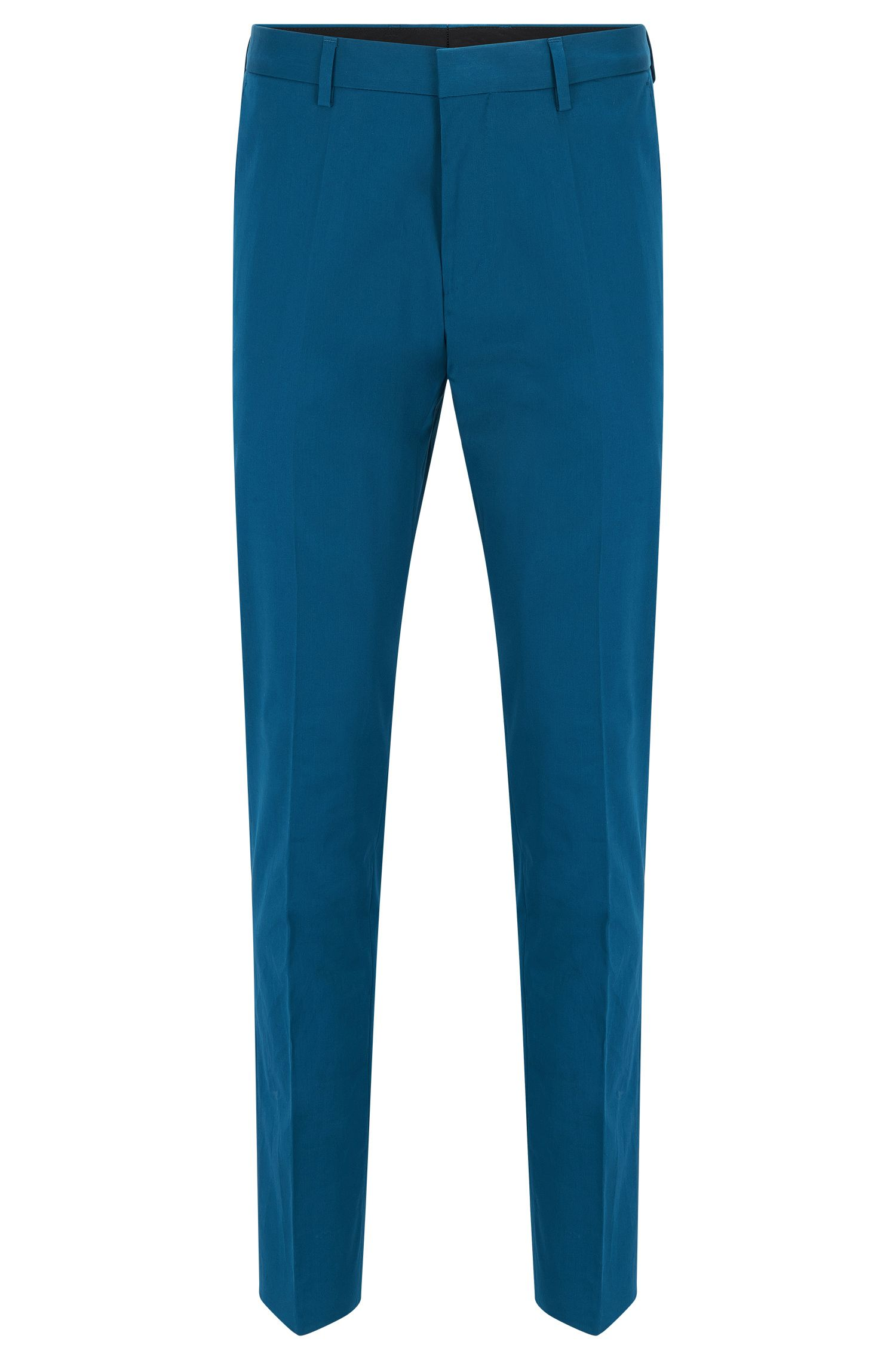 'Genesis' | Slim Fit, Stretch Cotton Dress Pants