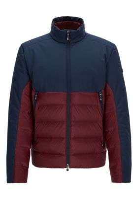 Nylon Quilted Jacket | Jannoni, Red