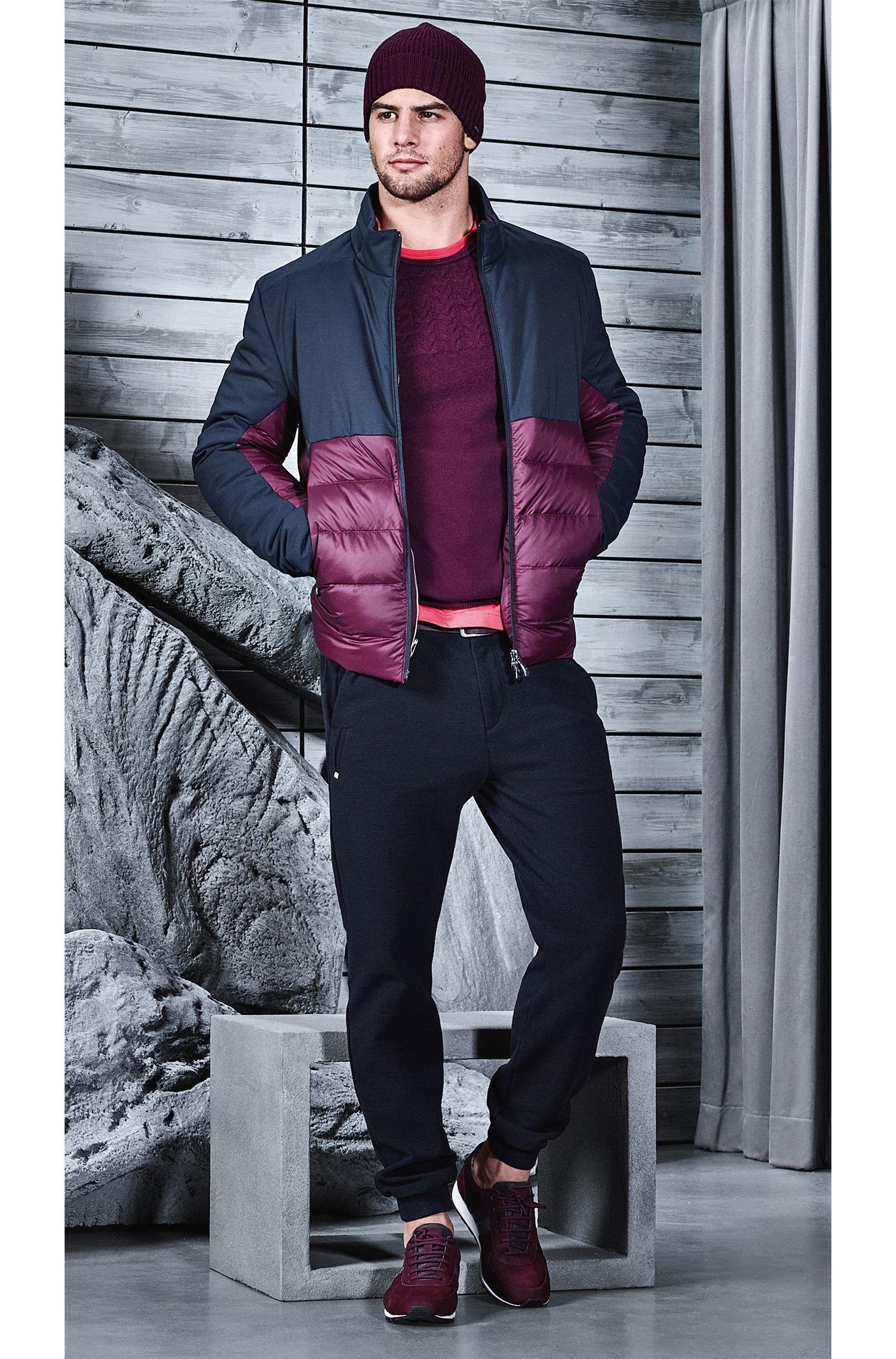 Nylon Quilted Jacket | Jannoni